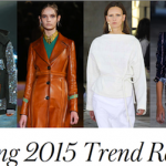 style.com spring 2015 trends