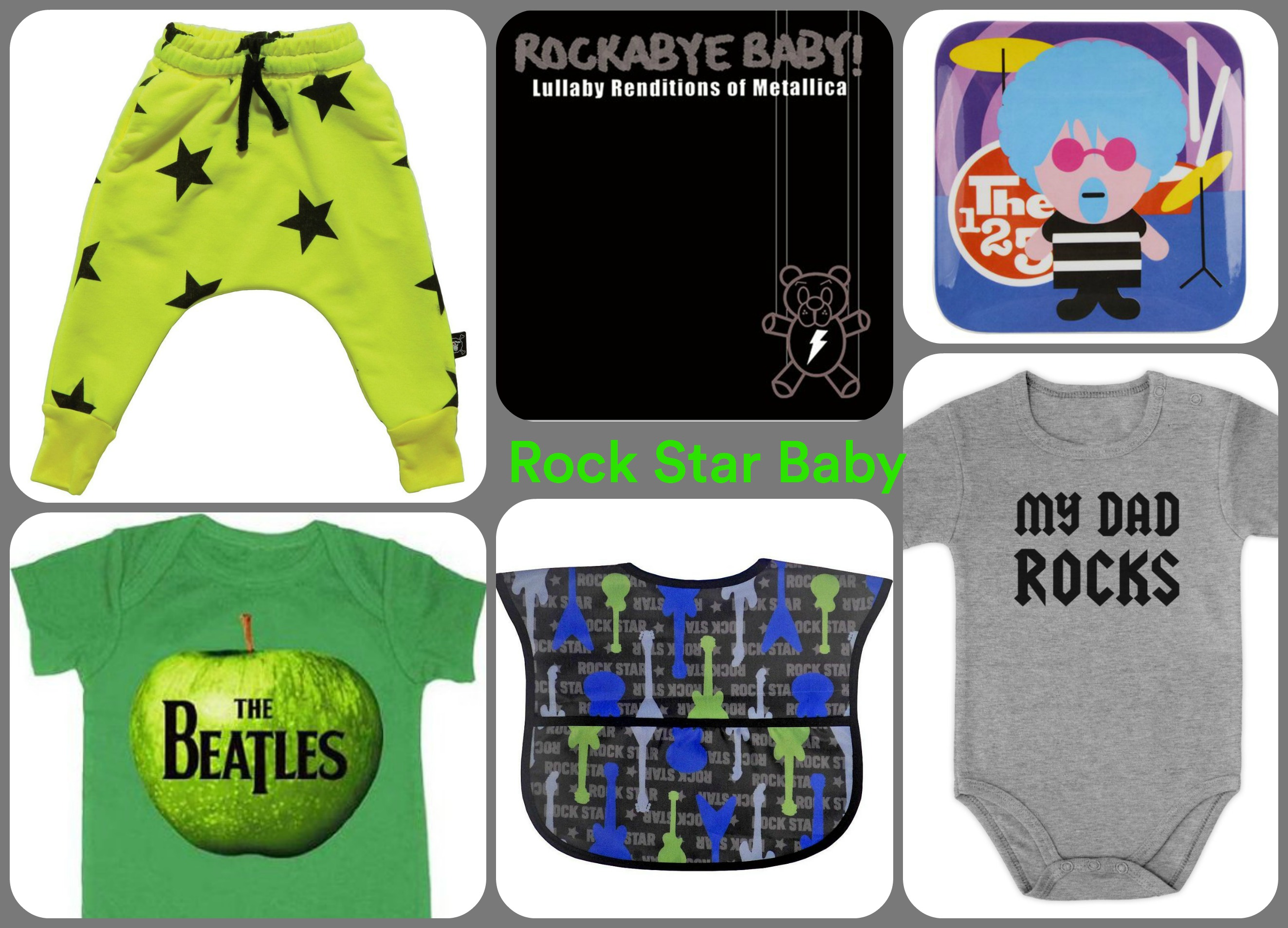 Rock Star Baby Essentials | Gugu Guru