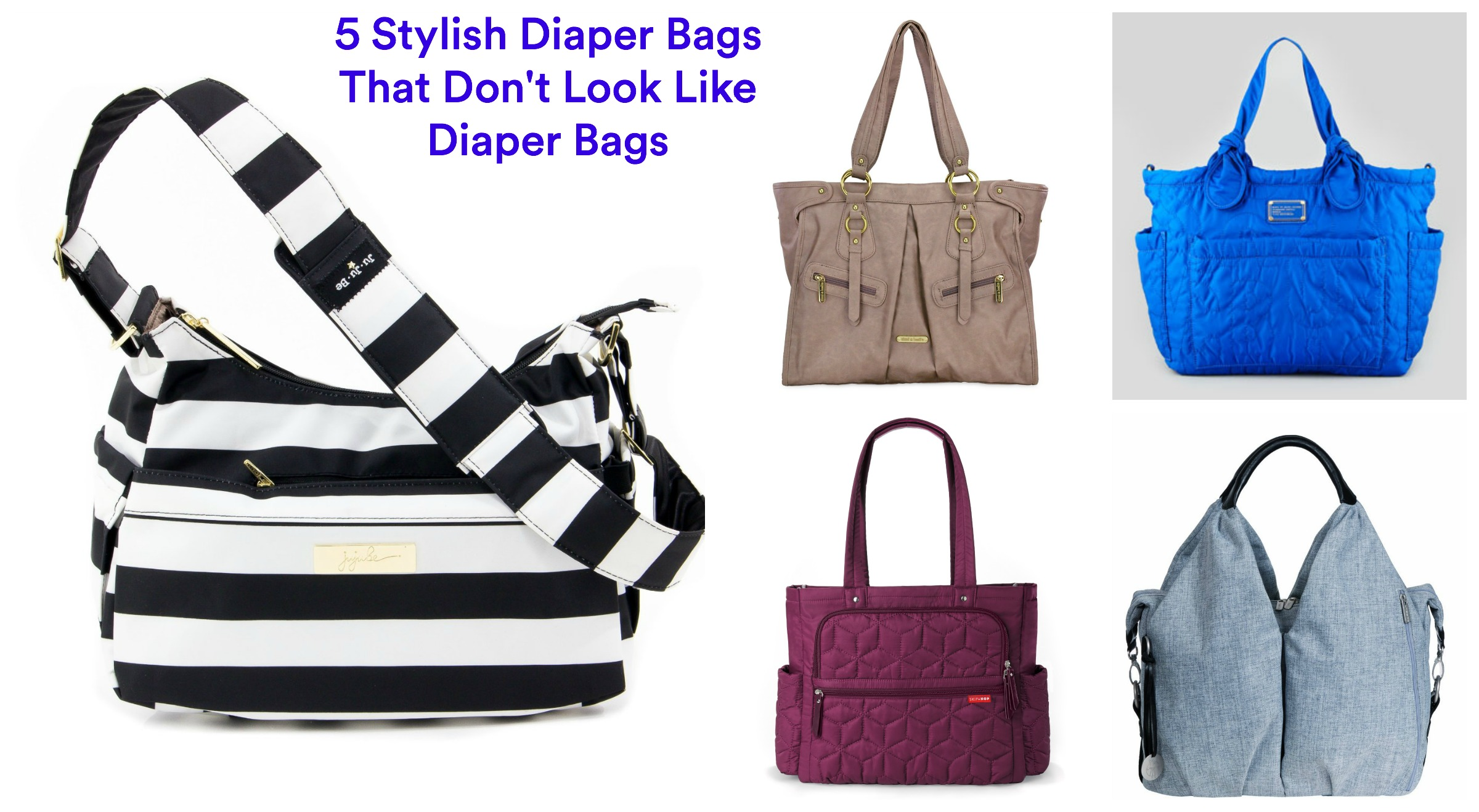 gugu guru 5 stylish diaper bags gugu guru blog. Black Bedroom Furniture Sets. Home Design Ideas