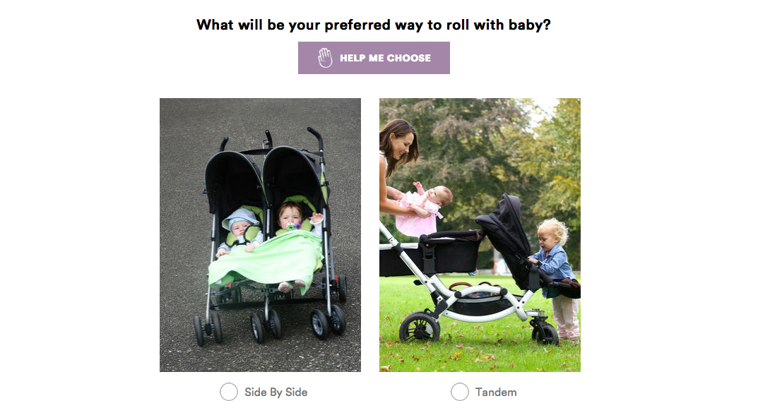 Tandem or Side By Side Stroller