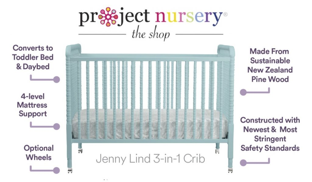Jenny Lind Crib from the Shop at Project Nursery