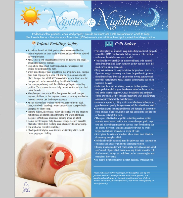 Baby Safety Zone Crib and Bedding Tips