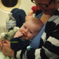 Rory on the plane