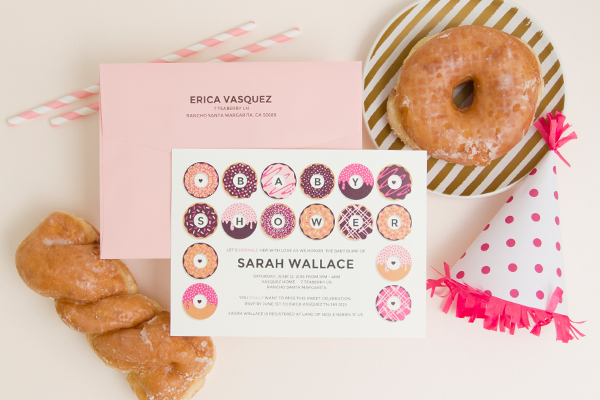 Shower Invitation Trends Envelopments