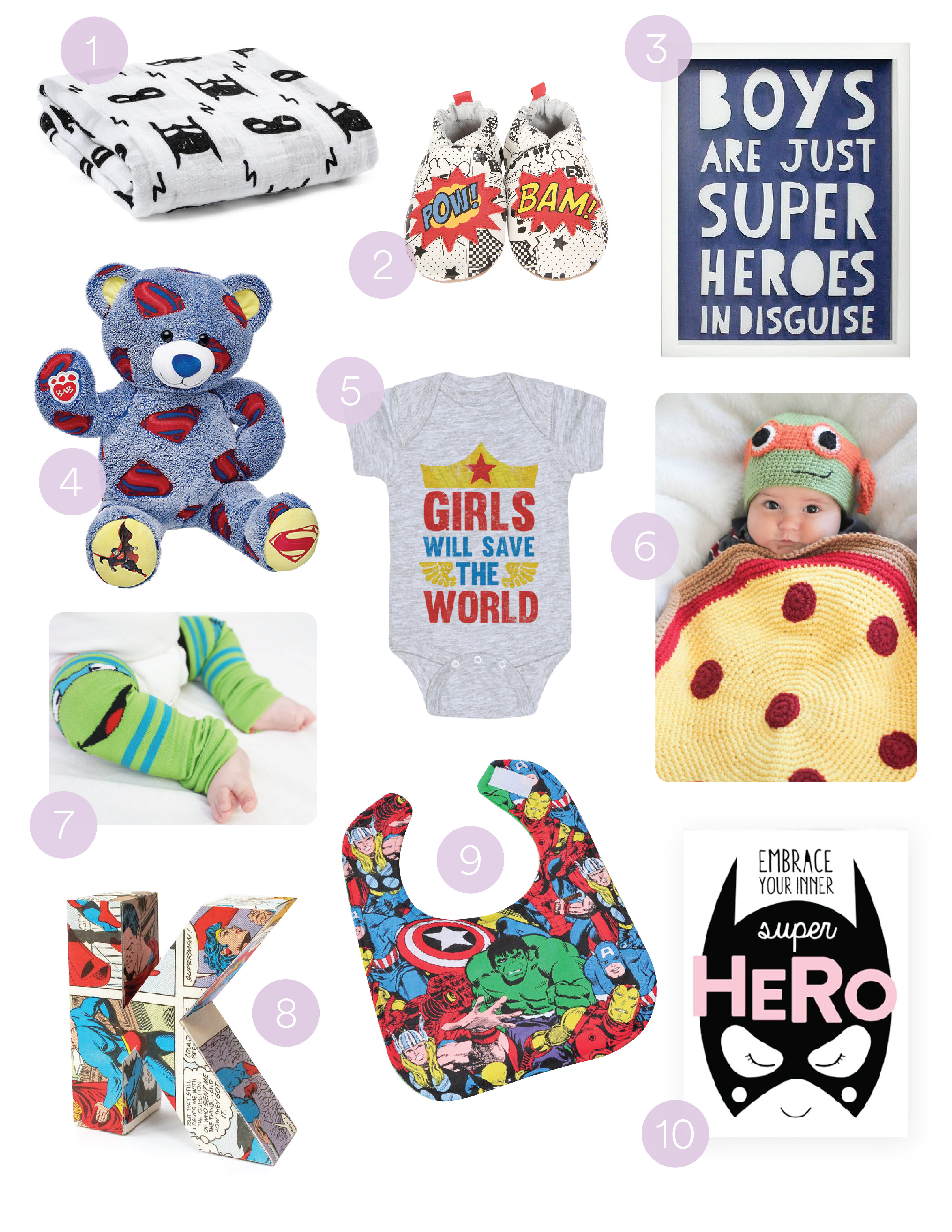 Must Have's: Super Heros