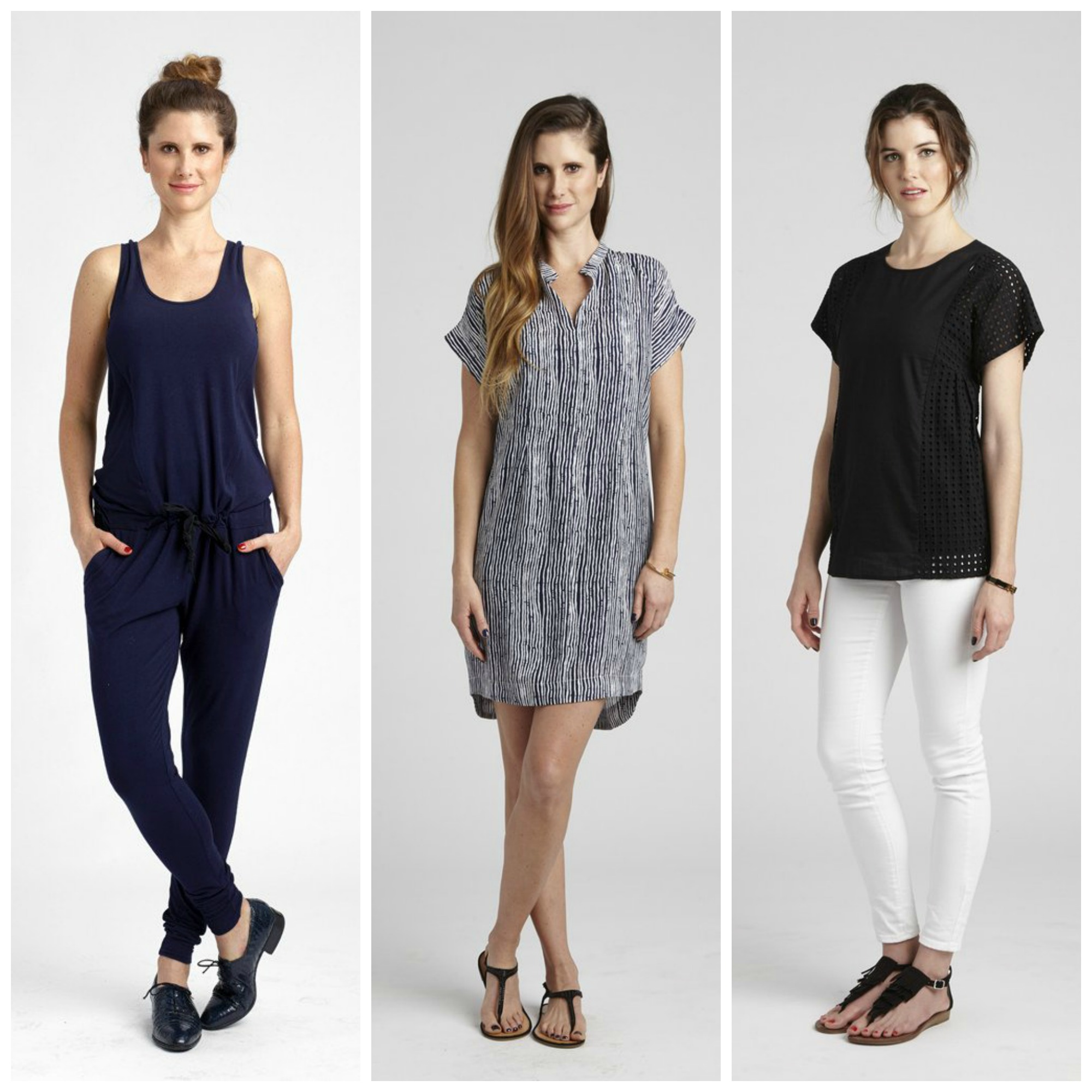 ca71c4344e648 With discreetly hidden zipper openings, soft, machine-friendly fabrics and  chic silhouettes, every piece of their maternity and nursing wear  collection was ...