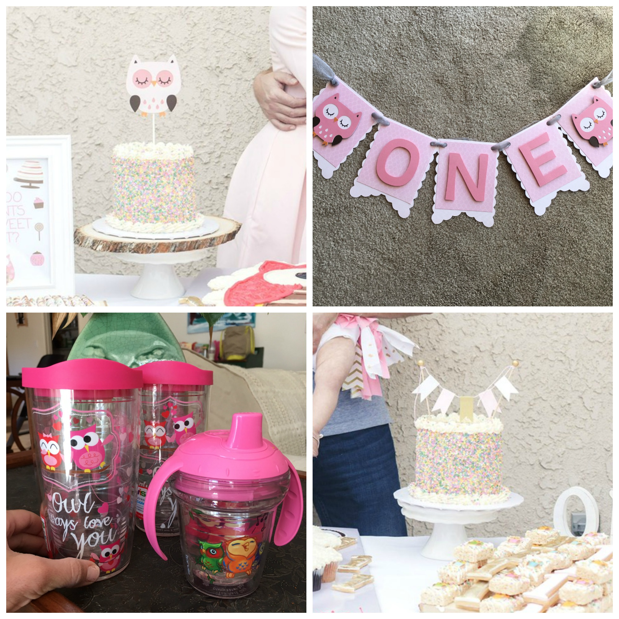 A Darling First Birthday Party Registry