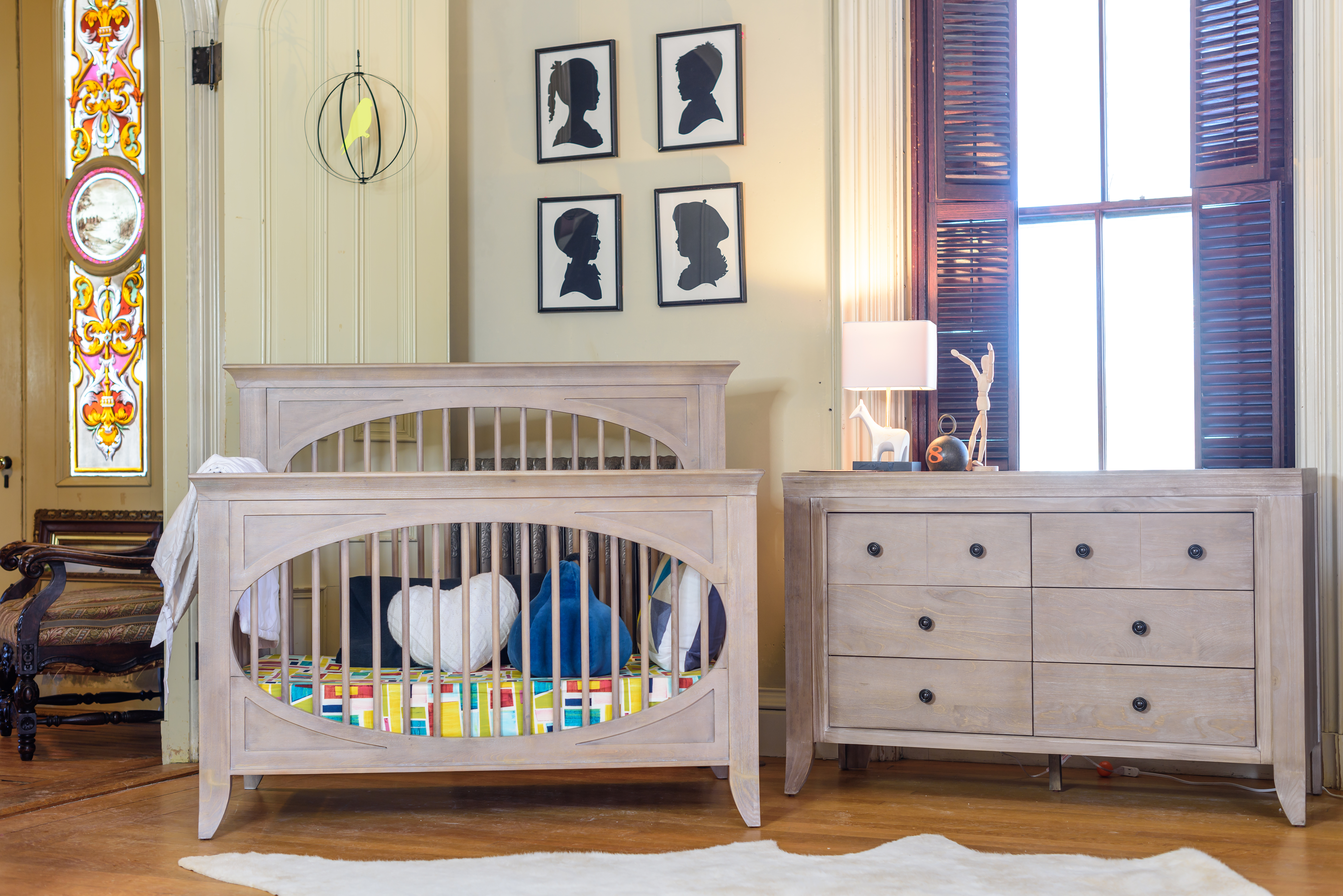 drawers crib convertible matty dresser cribs juvenile kids bark with pink featuring pulls soft vibe collection nest drawer brass in antique double product white