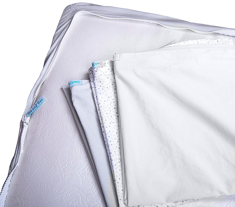 QuickZip® Complete Crib Sheet Bundle