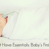 Top 5 Must Have Essentials: First Night Home With Baby