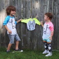 Pregnancy Announcement Ideas With Here Comes Baby!