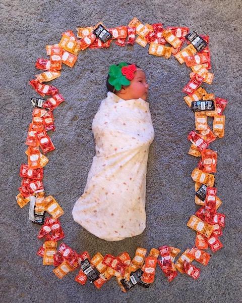 Baby Burrito Miranda Brand