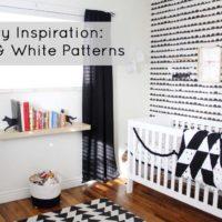 Nursery Inspiration: Black & White Patterns