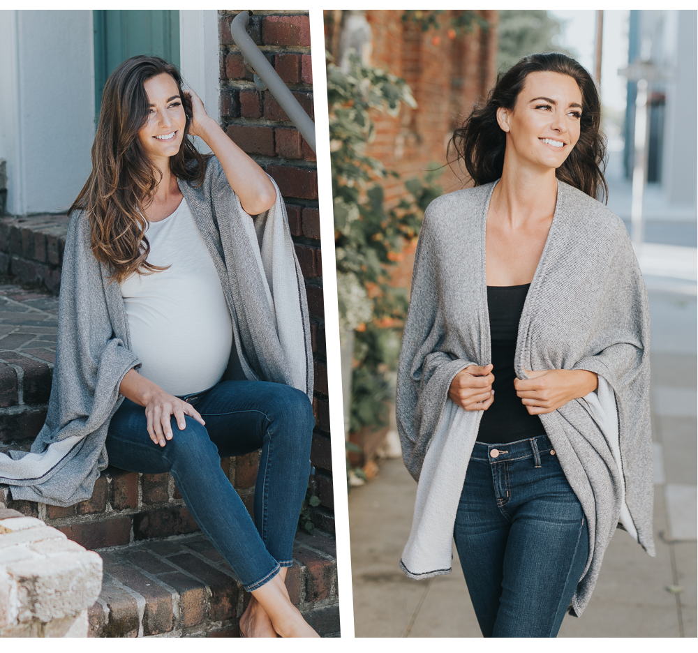 Easy Draped Nursing Wrap: Drape Style Nursing Wraps Metamorphose Into A  Chic Third Piece, Aka The Easiest Way To Elevate The Simplest Of Looks.
