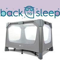 Back to Sleep: 4moms breeze GO Playard