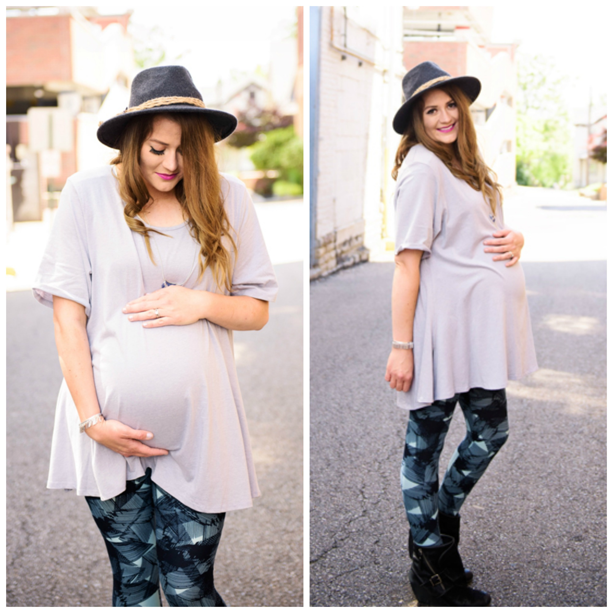 77850e90958ec It's great for early pregnancy and size up for full coverage at the end! I  sized up a few sizes to make the perfect tee into ...