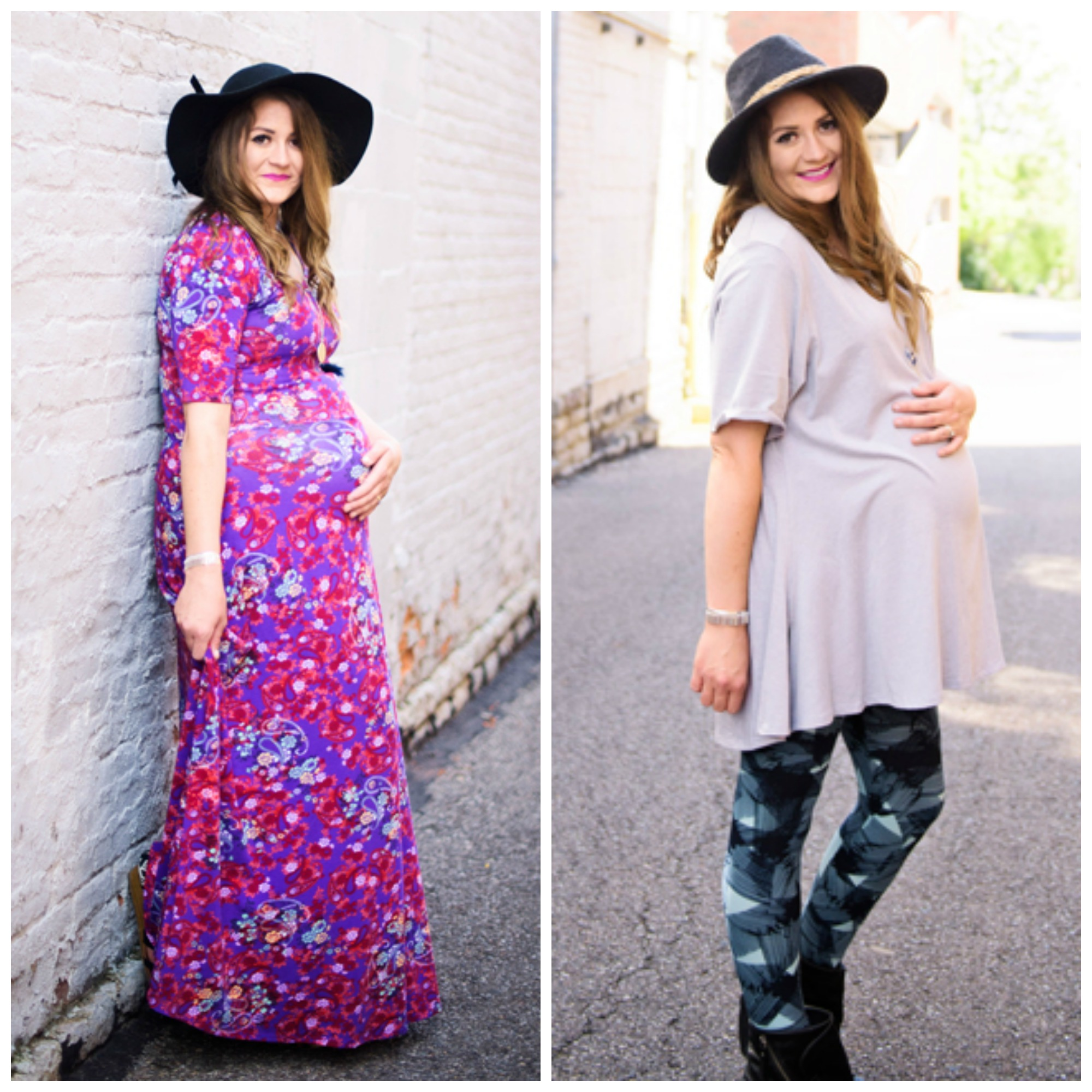 Maternity Style: LuLaRoe with See Kate Sew