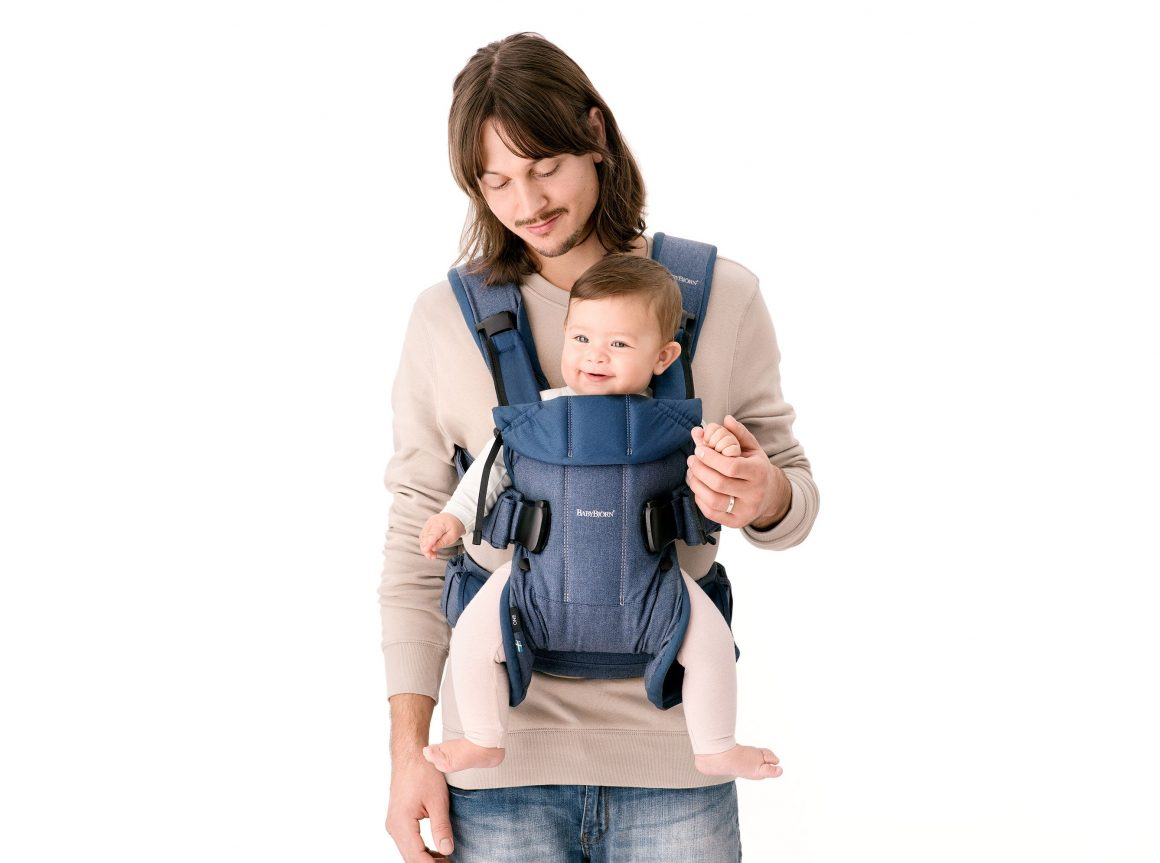 Babywearing Week With Babybjorn Denim Baby Carrier One