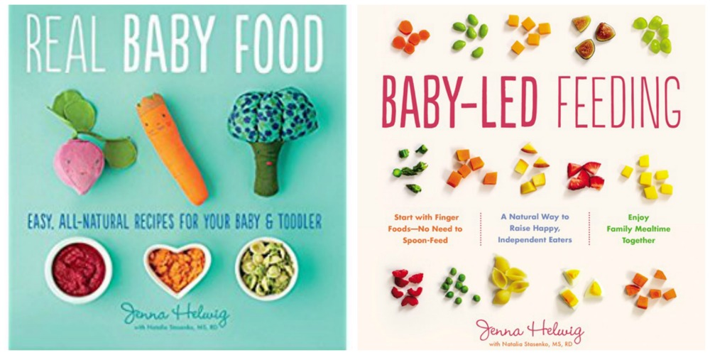 Baby food recipe books for your registry gugu guru blog when it comes to feeding your baby solid foods and their eventual transition to feeding themselves we always turn to jenna helwigs two baby food recipe forumfinder Image collections