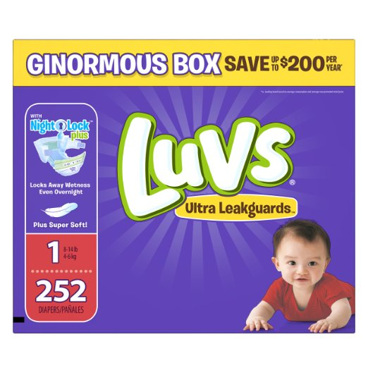 best disposable diapers luvs