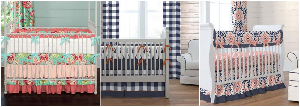 Made in america gift guide gugu guru blog carousel designs when it comes to picking crib bedding its so much fun to match the bedding with the design of the nursery and really personalize the negle Gallery