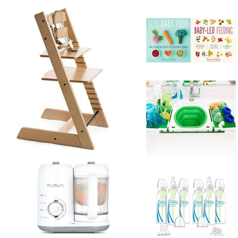 feeding products for natural, on-the-go parenting registry picks