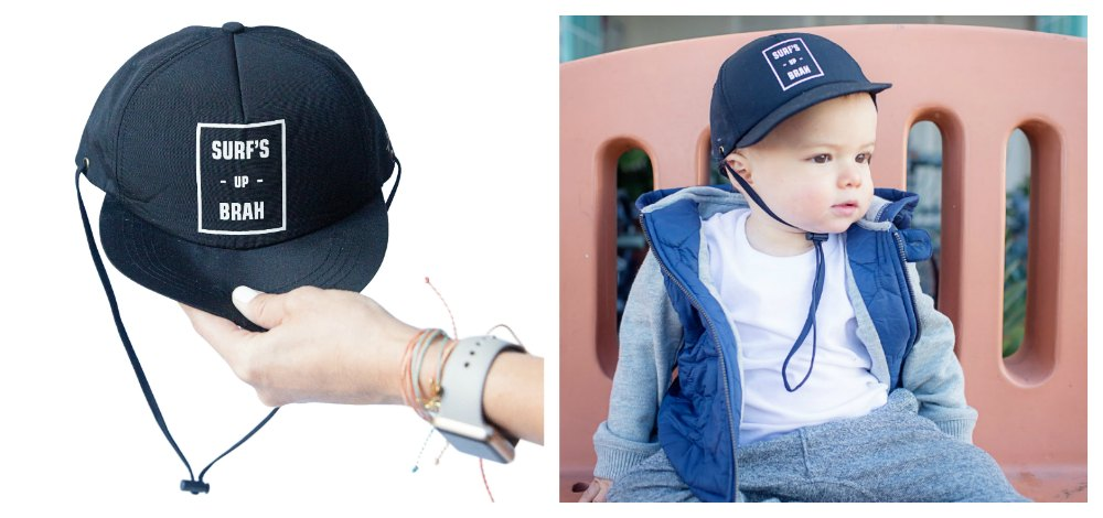 Travel With Baby hat